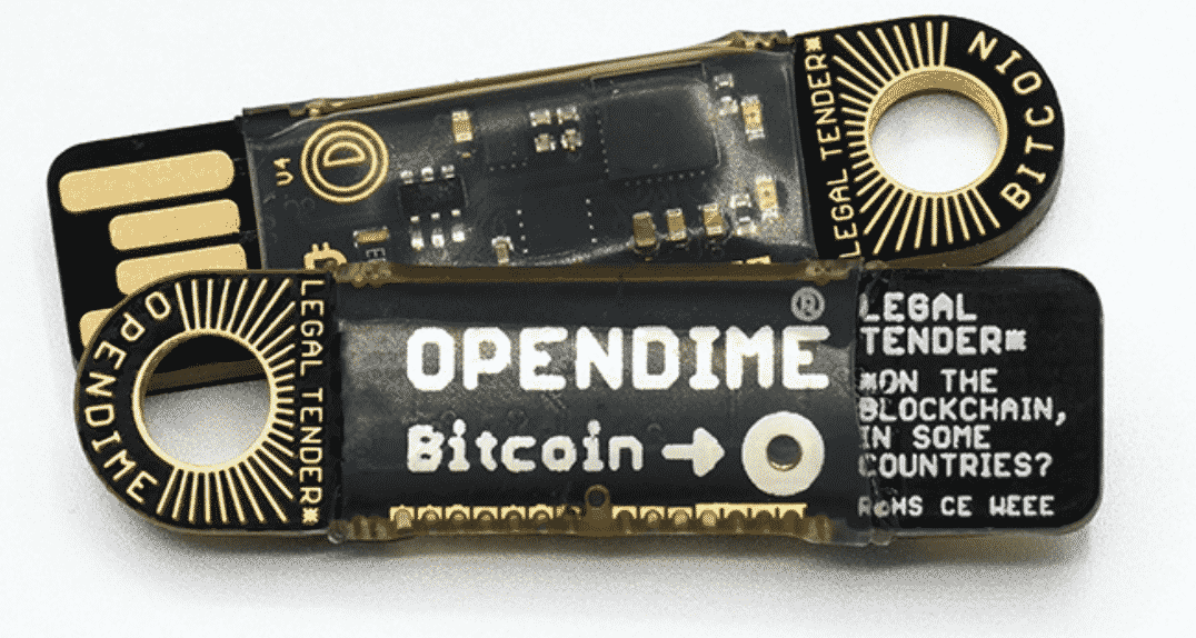 Opendime Cold Card By Coinkite